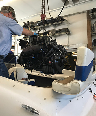 Harbin marine expert boat engine repair northern va