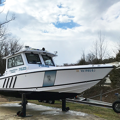 police boat engine repair lorton va